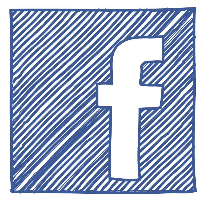 facebook logo sketch